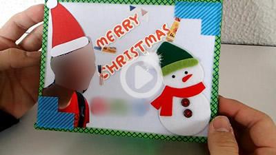クリスマスカード16